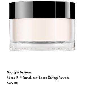 Other - Gorgio Armani Micro-Fil™Translucent Setting Powder